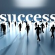 Walking towards Success — Stock Photo