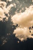Retro obloha — Stock fotografie