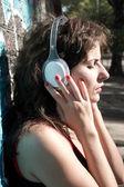 Urban Audio — Stock Photo
