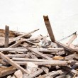 Trash of a demolished House — Stock Photo #33074145