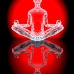 Yoga Meditation pose — Stock Photo