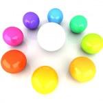 Color wheel — Stock Photo #33526697
