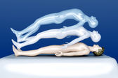 Astral Projection — Stock Photo