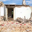 Stock Photo: Demolished House