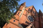 Igreja em berlim — Fotografia Stock