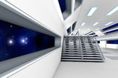 Space station Interior — Stock Photo