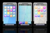Akıllı telefonlar — Stok fotoğraf