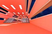 Space station Interior — ストック写真