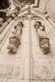 Detail of the Cathedral of Regensburg — Stock Photo