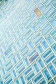 Pared de ladrillos de vidrio — Foto de Stock