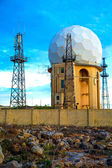 Stacja radarowa w dingli — Zdjęcie stockowe