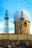 Radar Station in Dingli — Stock Photo