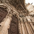 Stock Photo: Detail of Cathedral of Regensburg