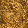 Stock Photo: Hay bale background