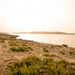 Stock Photo: Nightfall in Bugibba