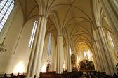 Interior da marienkirche em Berlim, Alemanha — Fotografia Stock