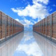 Stock Photo: Server Cloud