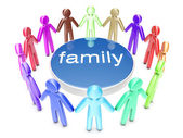 Family — Stock Photo