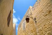 Historic Architecture in Mdina — Stock Photo