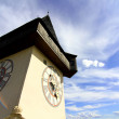 The Clock tower in Graz — Stock Photo #40952501
