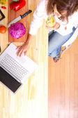 Internet pişirme — Stok fotoğraf
