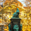 Deak Ferenc Statue in Budapest	 — Stock Photo #43027901