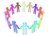 Diversity group — Stock Photo