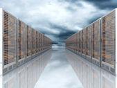 Server Cloud — Stock Photo