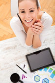 Developing a Business Plan — Stock Photo