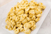 Picture of a bowl of pasta — Stock Photo