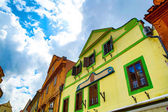 Historic architecture in the center of Cesky Krumlov	 — Stock Photo