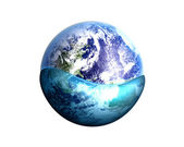 Global water — Stock Photo