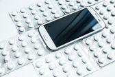 Medical Smartphone — Foto Stock