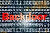 Backdoor — Stock Photo