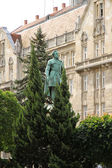 Statue of Istvan Szechenyi in Sopron	 — Stock Photo
