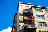 Socialistic Architecture in Budapest — Stock Photo