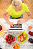 Researching Fruits	 — Stock Photo