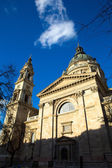 Saint Stephens cathedral in Budapest — Stock Photo