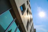 Nowoczesna architektura w Niemczech — Zdjęcie stockowe