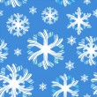 Christmas pattern with graphic christmas snow, vector. — 图库照片