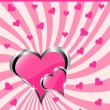 A vector valentines background — Stock Vector #17618037