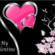 A vector valentines background - 