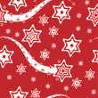 Stock Vector: Christmas wrapping paper or background