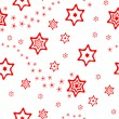 Christmas wrapping paper or background — Stock Vector