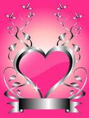 A vector valentines background — Stockvektor