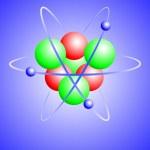 A vector illustration of a lithium atom — Stock Vector #5248597