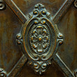 Antique door - Stock Photo