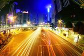 Miasto nocą — Zdjęcie stockowe