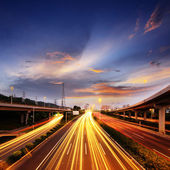 легкорельсовый транспорт — Стоковое фото