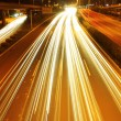 Car lights trails — Stock Photo #12830863